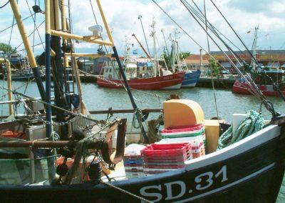 Kutter im Hafen