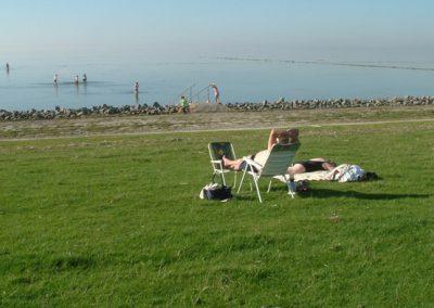 Der Strand in Hedwigenkoog